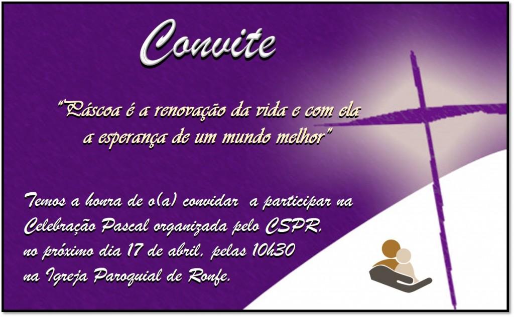 Convite_Celebração Pascal 2019